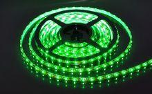 Лента светодиодная 3528 5м.,зеленый (60LED/м, 4,8Вт/м, 8мм, интерьерная)