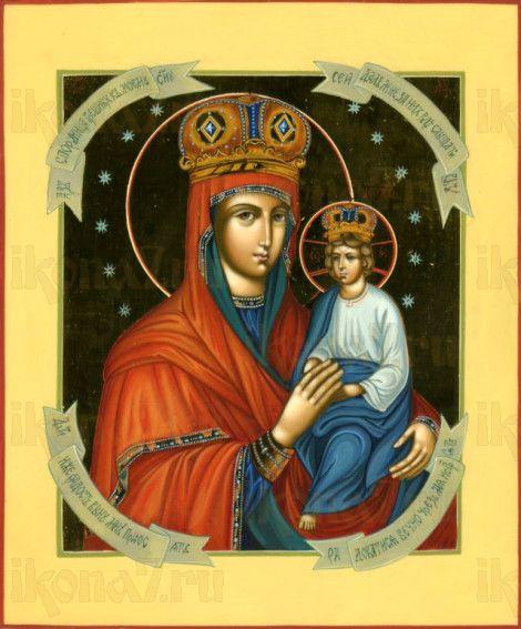 Споручница грешных (рукописная икона)