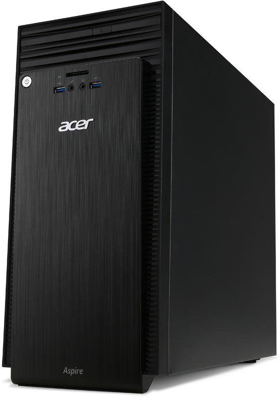 Системный блок Acer Aspire TC-705 MT DT.SXNER.080 черный