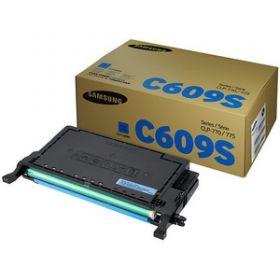 Картридж оригинальный Samsung CLT-C609S синий 7K