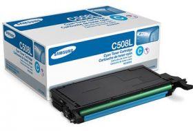 Картридж оригинальный CLT-C508 Samsung (ресурс 4000 страниц), увеличенный, синий