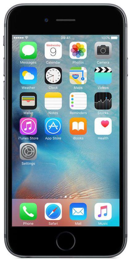 Мобильный телефон Apple iPhone 6S 64 Gb Space Gray A1633