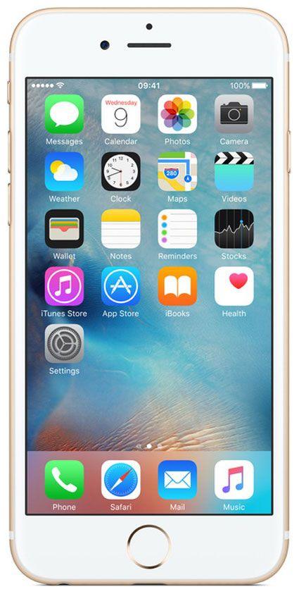 Мобильный телефон Apple iPhone 6S 32 Gb Gold A1688