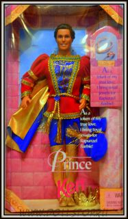 коллекционная кукла Кен как Принц - doll Ken as Prince