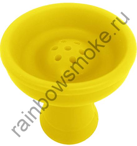 Силиконовая чаша жёлтая (стандарт)