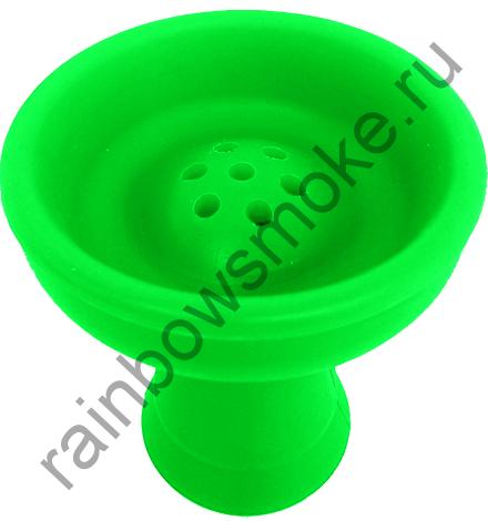 Силиконовая чаша зелёная (стандарт)