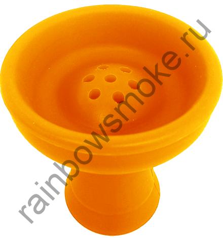 Силиконовая чаша оранжевая (стандарт)