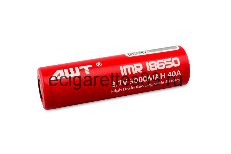 Аккумулятор 18650 AWT IMR 3000 mah 40A