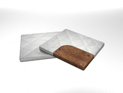 Наматрасник кокосовый с резинками по углам | MaterLux