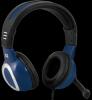 Игровая гарнитура Warhead G-280 синий, кабель 2,5 м