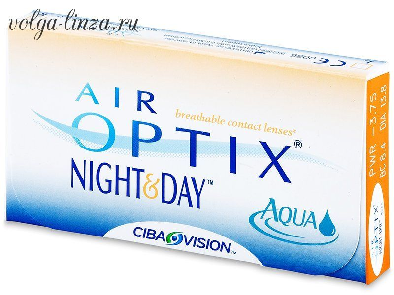 Air Optix Night & Day (3 шт.)