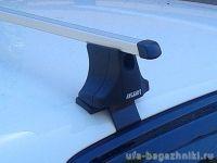 Багажник на крышу Volkswagen Golf 6, Атлант, прямоугольные дуги