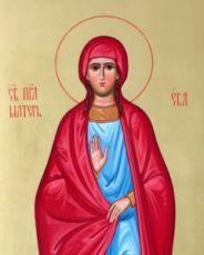 Икона Ева, праматерь (рукописная)
