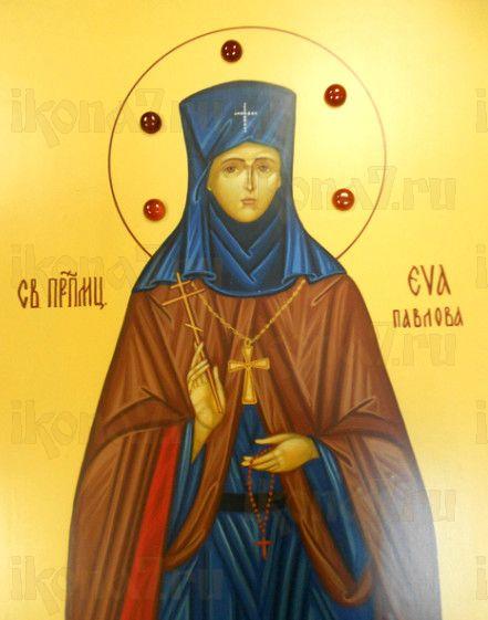 Икона Ева Павлова (рукописная)