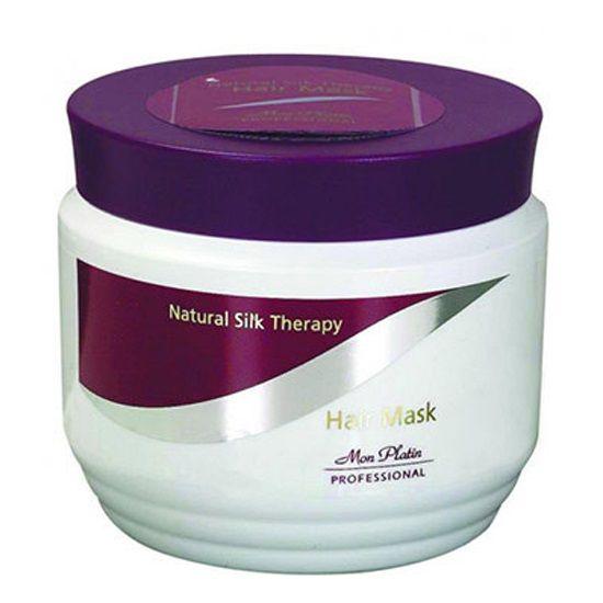 Маска для волос натуральный шелк Mon Platin Professional (Мон Платин Профешнл) 500 мл