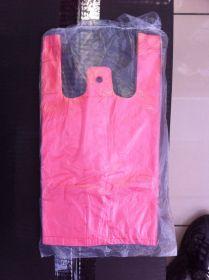 Пакет майка. Цвет - красный. (15*30). В упаковке - 80шт.