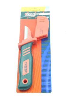 Нож диэлектрический (1000 V)  для снятия изоляции с пяткой