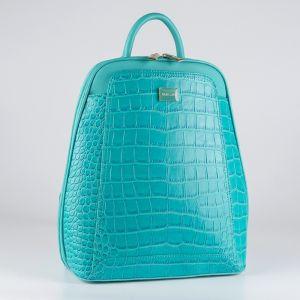 Рюкзак женский 1511820; экокожа; бирюзовый