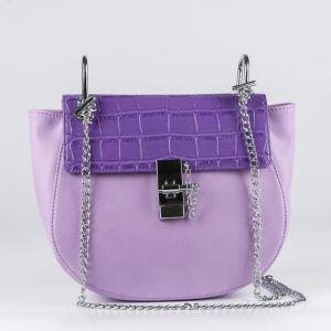 Клатч женский 1511910; экокожа; пурпурный