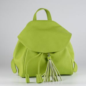 Рюкзак женский 1512710; экокожа; зеленый