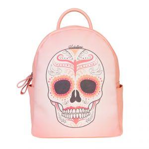 Рюкзак женский 1514210; экокожа; бледно-розовый