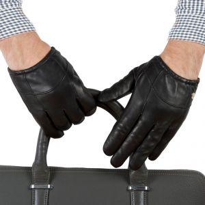 Перчатки мужские 29К_40032_10_1308П; кожа; черный (Размер 9)