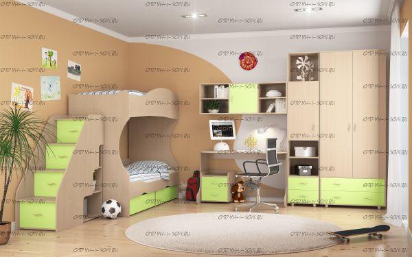 Детская комната Дельта №2