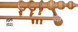 Карниз деревянный ДК 23 дуб