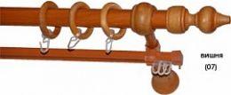Карниз деревянный ДК 27Д вишня
