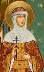 Христина Владимирская (рукописная икона)