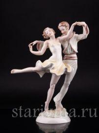 Танцующая пара, Hutschenreuther, Германия, 1938-55 гг