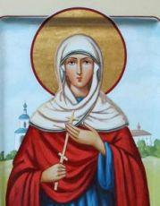 Икона Христина Лампсакийская (рукописная)