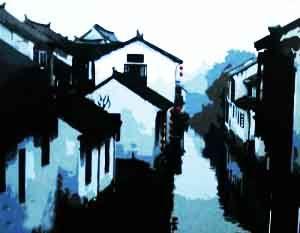 """Набор для рисования по номерам """"Японский город"""""""