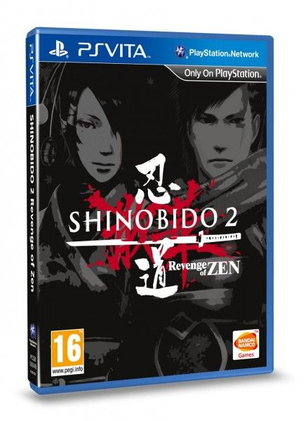 Игра Shinobido 2: Revenge of zen (PS Vita)