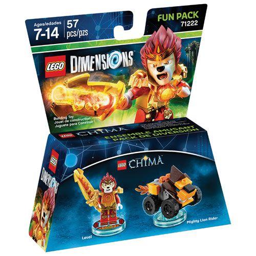 Lego Dimensions 71222 Laval (серия Lego Chima)