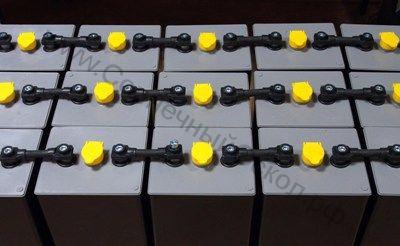 Перемычка 105 для тяговых панцирных аккумуляторов, ёмкостью до 400 Ач*2В
