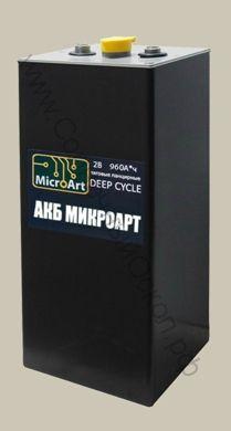 Аккумулятор тяговый панцирный 2В 960А*ч (глубокого разряда)