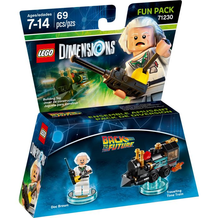 Lego Dimensions 71230 Back to the Future (Назад в будущее)