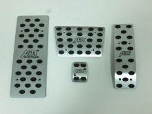 Накладки на педали Nouble, алюминий, с логотипом ABT, а/м с Акпп