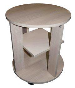 """Кофейный столик """"Мадейра"""" светло-бежевый / крем"""
