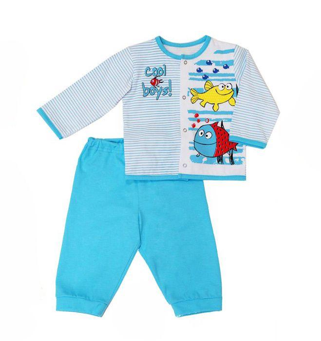 Бело-голубой костюм Рыбки