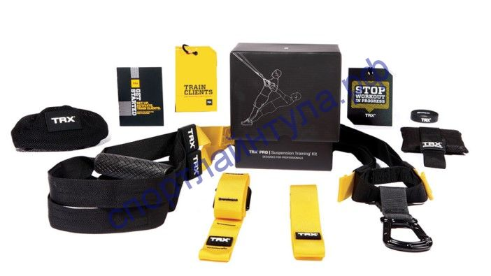 Тренажер-петли TRX PRO Suspension Training Kit