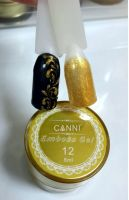 Гель-паста 3D Emboss Gel CANNI 012 (золото), 8 мл.