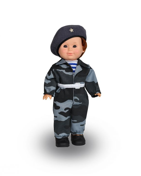 Кукла Митя Военный