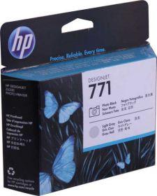 HP CE020A, головка оригинальная серая и черная, №771