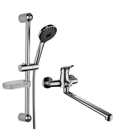 Смесители LEMARK серия SET. Комплект для ванной комнаты «2 в 1» – LM7303C