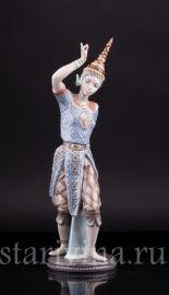 Тайская танцовщица, Lladro, Испания, 1988 г.