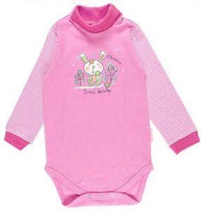 розовый боди для новорожденного