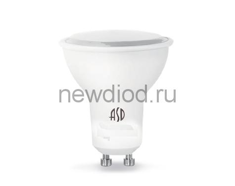 Лампа светодиодная LED-JCDRC-standard 3Вт 160-260В GU10 4000К 270Лм ASD