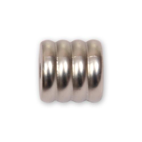 Кронштейн торцевой открытый сатин 16 мм